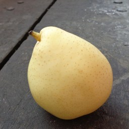 Pear on a Really Cool Trolley